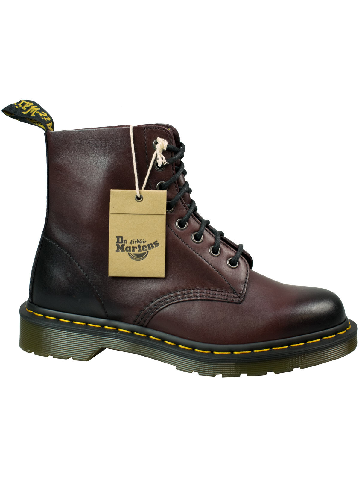 Dr. Martens doc 8 agujero botas Boot pascal Cherry Red Antique Temperly CR