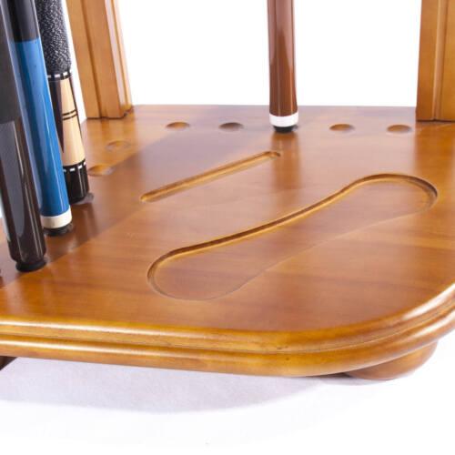 Hochwertiger Queueständer für bis zu 8 Queues von Billiard-Royal versch Farben