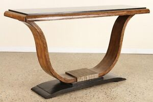 Image Is Loading MAHOGANY SLATE TOP CONSOLE TABLE STYLE OF RUHLMAN