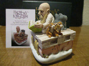 Harmony Kingdom Two by Two Noah's New Ark with Animals Box Figurine SGN