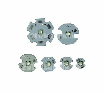 10pcs 3W 490nm Cyan LED chip High Power bead with 16mm Round base DIY