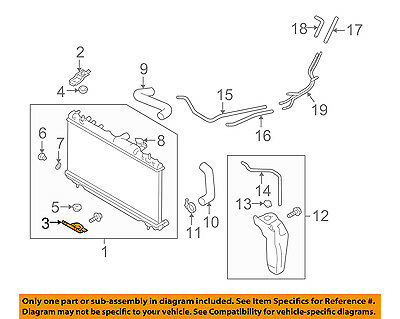 Radiator For//Fit 2464 02-07 Subaru Impreza Outback 2.5L w//o Turbo PTAC 1 Row