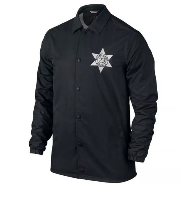 2016 Men s Nike Air Jordan Pinnacle Security Jacket SZ XL Black 835951-010 18c0b0148