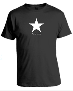 ea150b012924 Image is loading David-Bowie-T-Shirt-Blackstar-Music-Festival-Black-