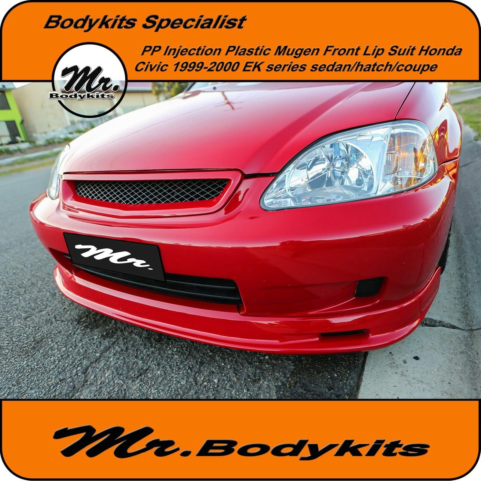 Honda Civic Ek Ek9 96 98 Bodykit Body Kit Front Grill White For Sale Online Ebay