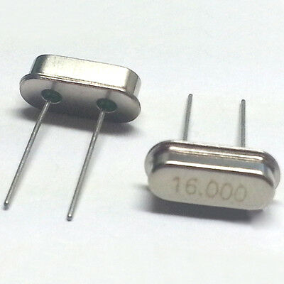 20pcs 16.000MHZ 16MHZ HC-49S Crystal Oscillator DIY Soldering Electronic Parts