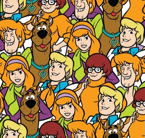Cuarto gordo Scooby Doo y estatuas de tela de algodón acolchado Gang