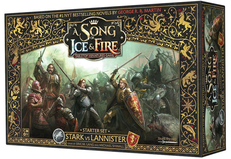 A Song of Ice and Fire Miniature Game Starter Box NIB