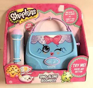 Image Is Loading Kins Sing Along Boombox Microphone Toy Handbag Purse
