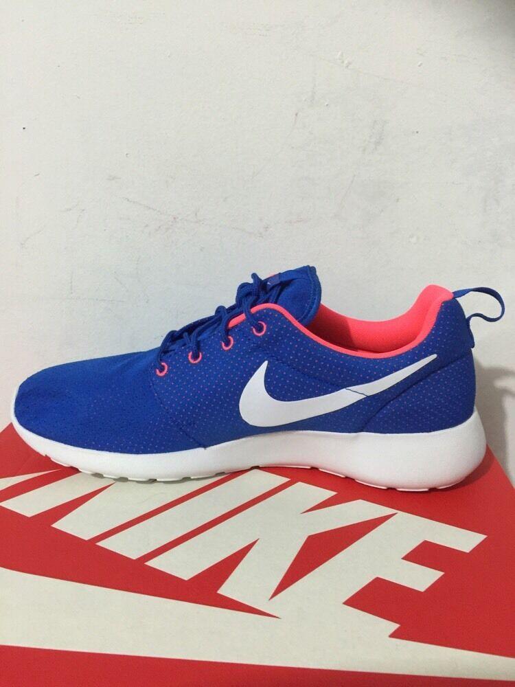 Nike Rusherun 511881-402 Mens Shoes Blue/white Hiper Punch Sz 11.5