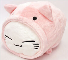 FuRyu Nemuneko Cosplay Fluffy Neko Cat Big Cushion Plush AMU7344 ~ Light Pink