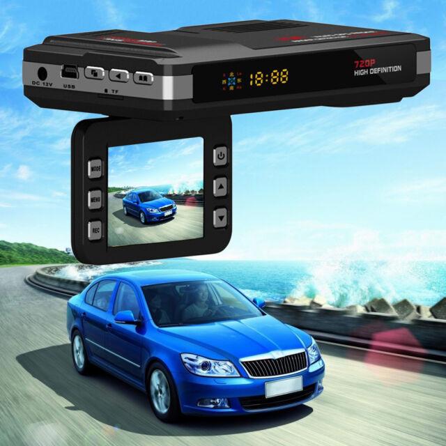 2 in 1 Car Camera Video Recorder Radar Laser Speed Detector Track LU