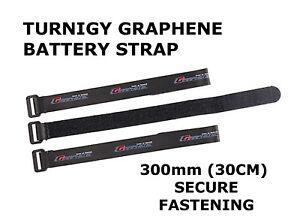 Turnigy-Rc-Graphene-fuerte-300mm-30cm-Correa-Ajustable-Seguro-De-Bateria-Lipo-Reino-Unido