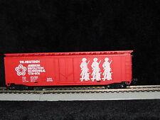 RARE * TYCO * ORIGINAL 1976 LOGO * MINUTEMEN 50' BOX CAR * HO Scale Train *mint*
