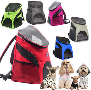 Hard-Working Pet Dog Carrier Backpack Outdoor Travel Products Breathable Shoulder Transporting Luggage Box For Small Dog Cats Bag Dogs Bag Dog Carriers