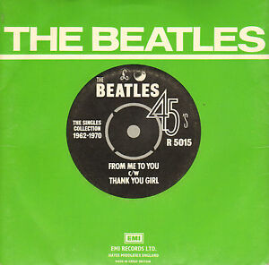 BEATLES-From-Me-To-You-Thank-You-Girl-1976-UK-VINYL-SINGLE-7-034-REISSUE