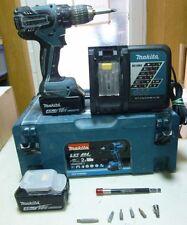 MAKITA, 18 V/4,0 Ah, Li-ion Batteria-Avvitatore DDF 459 RMJ!!! 2 batterie