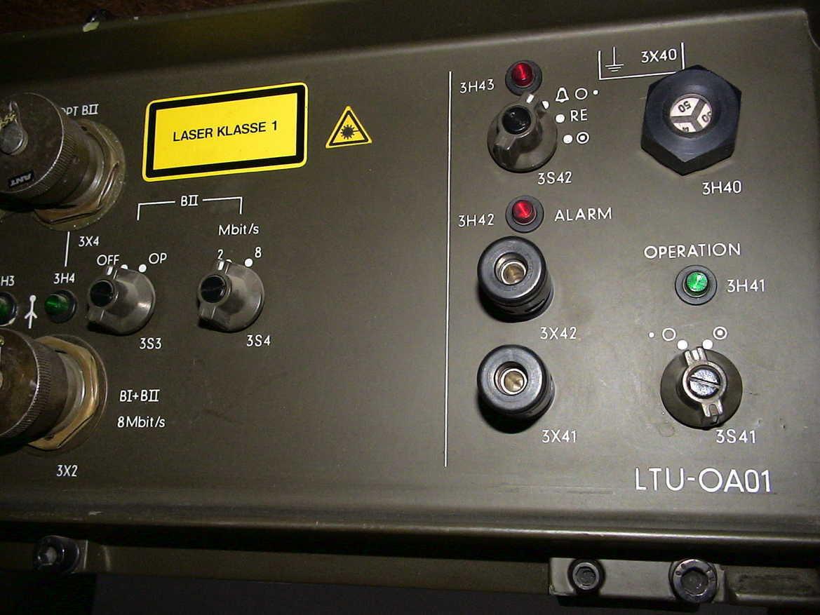 ANT SELEX LTU-OA01 Lichtsignal Sender Empfänger HDB3 SIG Wandler CIM Code CRYPTO