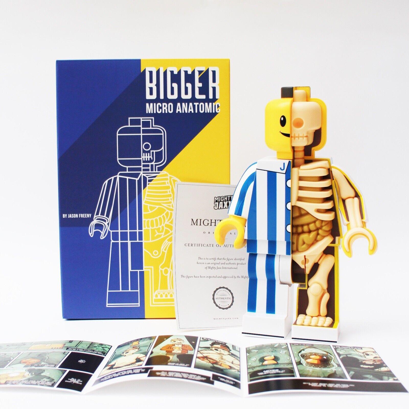 Bigger Micro Schematic by Jason Freeny (Mighty Jaxx, Overjoyed Edition)