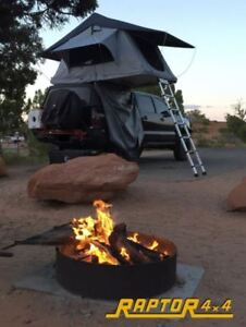 Image is loading Raptor-4x4-Premium-Soft-Top-Roof-Tent-Land- & Raptor 4x4 Premium Soft Top Roof Tent Land Rover Discovery 3 ...