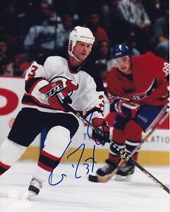New Jersey Devils Ken Daneyko signed 8x10 photo