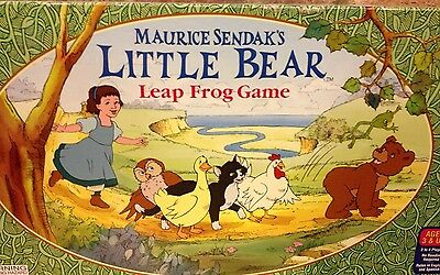Maurice Sendak Little Bear Leap Frog Board Game Cadaco  Wild Things Productions