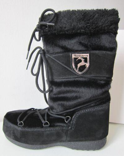 Black Stivali Thia Gr 37 Stivali Tamaris Warm invernali Black wxpwA