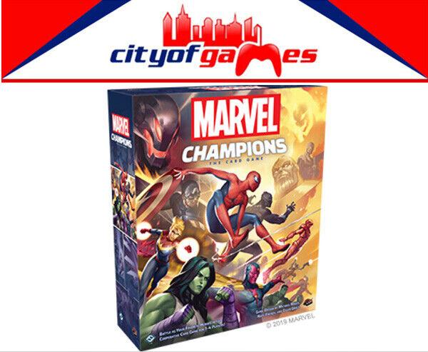 El juego de Cochetas de campeones de Marvel Core conjunto nuevo pedido previo