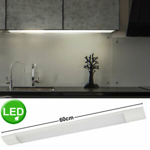 LED Licht Leiste Unterbau Lampe Schrank Beleuchtung ALU Ess Zimmer Beleuchtung