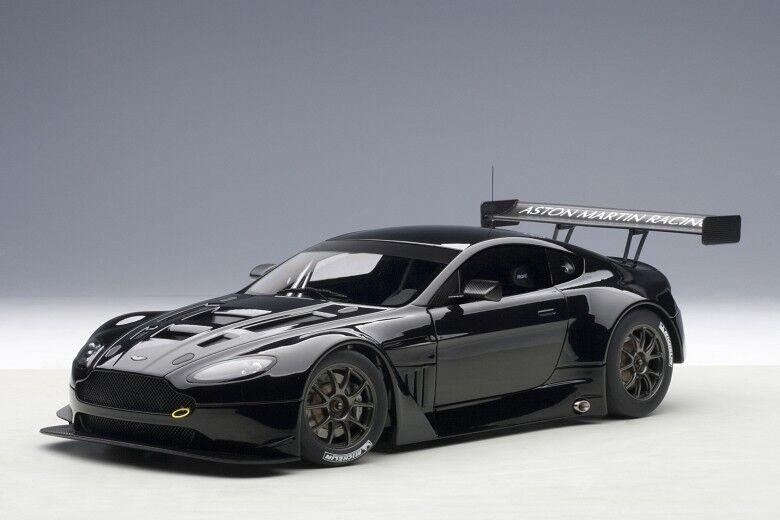 Autoart 81308 - 1 18 Aston Martin Vantage V12 Gt3 (2013) - Black - New