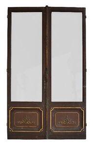 Portes-anciennes-epoque-fin-XIXeme-de-salon-vitrees