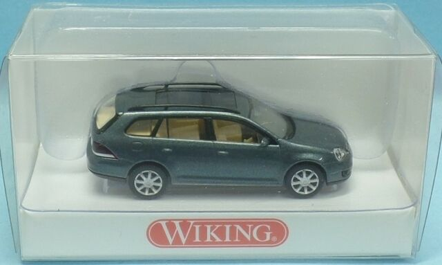 WIKING Nr.0058 38 29 VW Golf Variant mit Glasschiebedach (graumetallic) - OVP