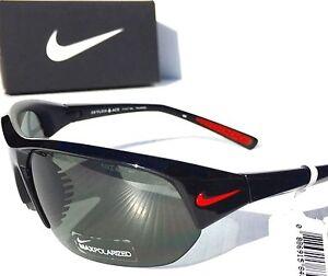 a220d23821e NEW  NIKE POLARIZED Gray Lens SKYLON ACE P BLACK Frame Sunglass ...