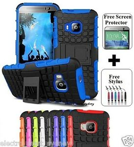 Heavy-Duty-Tough-Kickstand-Hard-Case-Cover-For-HTC-ONE-10-M9-M10