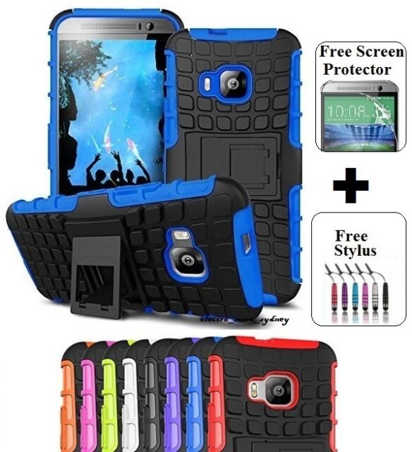 Heavy Duty Tough Kickstand Hard Case Cover For HTC ONE 10 M9 M10