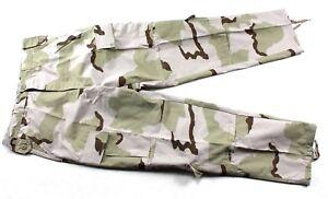 USGI-Medium-Reg-3-Color-Desert-Camo-DCU-RAID-Field-Combat-Pants-BDU
