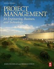 Project Management For Engineering Business And Technology Int'l Edition