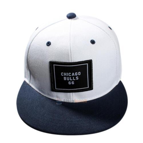 Women Men\\\/'s Bboy Brim Adjustable Baseball Cap Snapback Hip-Hop Hat Unisex Cap