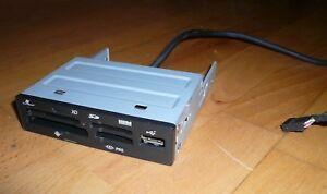 lecteur carte sd interne Lecteur carte mémoire interne 3.5' noir Acer   SD XD CF MS USB 2