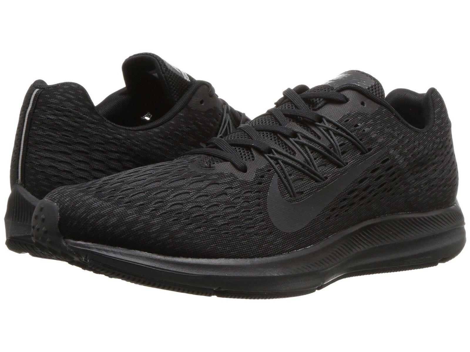 AA7406-002 Men's Nike Air Zoom Winflo 5 Running Shoes Black Sizes 8-12 NIB