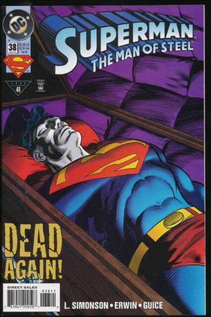 Superman, The Man of Steel, #38, November 1994 - Mint (MT)