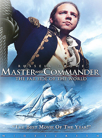 Master And Commander The Far Side Of The World DVD, 2004, Widescreen  - $7.17