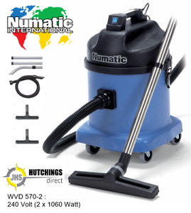 Details about Numatic WVD570 2 WetDry Twin Motor Industrial Commercial Vacuum Cleaner