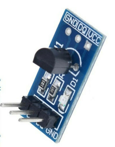 //-0.5oC 1-Wire Addressable Arduino Pi IoT UK Temperature Sensor DS18B20 Module