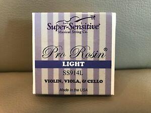 USA-Super-Sensitive-Pro-Rosin-914L-Light-for-Violin-Viola-and-Cello