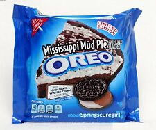 1 NEW! Nabisco Oreo MISSISSIPPI MUD PIE Sandwich Cookies LIMITED EDITION