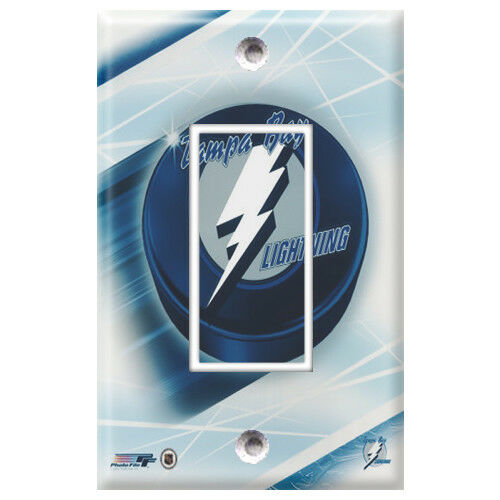 Tampa Bay Lightning NHL Light Switch Covers Home Decor Outlet