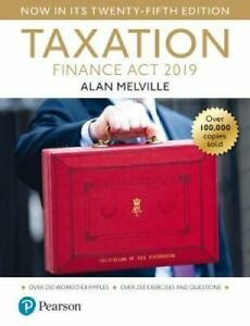 Melville-039-s-Taxation-Finance-Act-2019-by-Alan-Melville-9781292293189-Brand-New