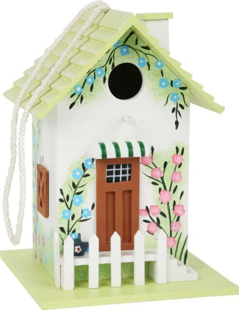 Nisthaus Nistkasten Vogelhaus aus echtem Holz 14 x 16 x 14cm