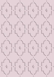 Moroccan Stencil Pattern Template Paint Furniture Card making Crafts ...